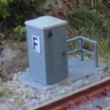 N-Signalfernsprecher nach Vorbild der ÖBB mit Geländer - 2er Packung