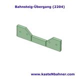 Bahnsteig ÖBB Übergang 4er Pack