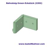 Bahnsteigkante ÖBB Innen Eckstück 4er Pack