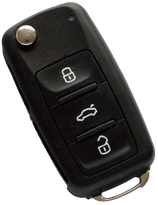 Reparatur Klappschlüssel VW (T5, T6, Golf, New Beetle, Up und weitere Modelle)