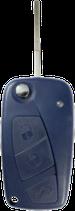 Reparatur Klappschlüssel FIAT blau