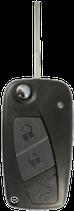 Reparatur Klappschlüssel FIAT schwarz