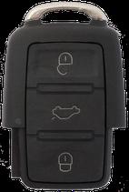 Reparatur Funkschlüssel 3-Tasten VW / Seat / Skoda (Golf, Polo, Lupo, T4, T5, Bora, EOS, Fox, Passat, Beetle und weitere Modelle)