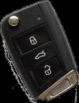 Reparatur Klappschlüssel VW (Golf, Polo und weitere Modelle)