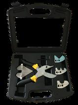 Kunstoffschere mit Koffer