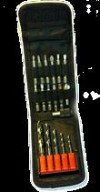 Bit - Metallbohrerset 18-teilig