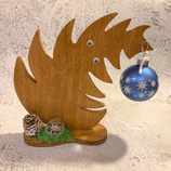 """Weihnachtsdeko Christbaum """"Krummer Hund"""" - mittel #7"""