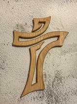 Holzkreuz Eiche gewachst #1