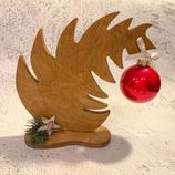"""Weihnachtsdeko Christbaum """"Krummer Hund"""" - mittel #6"""