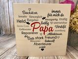 """Wandbild """"Papa"""""""