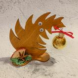 """Weihnachtsdeko Christbaum """"Krummer Hund"""" - klein #5"""