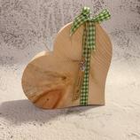 Herz aus Tiroler Zirbenholz #3