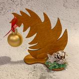 """Weihnachtsdeko Christbaum """"Krummer Hund"""" - klein #4"""