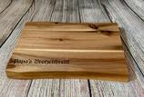 Personalisiertes Brotzeitbrett mit Wunschgravur - Akazienholz
