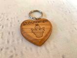 """Schlüsselanhänger """"Herz"""" - Schutzengel 1"""