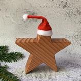 Weihnachtsstern aus Massivholz, 15cm - Douglasie #4