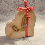 Herz aus Tiroler Zirbenholz #1