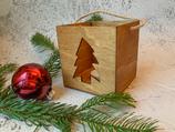 Weihnachtslaterne Tannenbaum