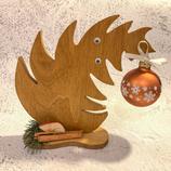"""Weihnachtsdeko Christbaum """"Krummer Hund"""" - mittel #9"""