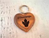 """Schlüsselanhänger """"Herz"""" - Schutzengel 2"""