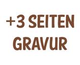 Gravur 3 zusätzliche Seiten