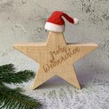 Weihnachtsstern aus Massivholz, 20cm - Ahorn #2