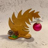 """Weihnachtsdeko Christbaum """"Krummer Hund"""" - klein #1"""