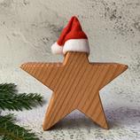Weihnachtsstern aus Massivholz, 15cm - Douglasie #3