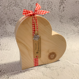 Herz aus Tiroler Zirbenholz #2