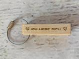 """Schlüsselanhänger """"Kantel"""" - Ich liebe Dich"""
