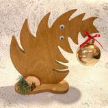 """Weihnachtsdeko Christbaum """"Krummer Hund"""" - mittel #8"""