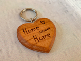 "Schlüsselanhänger ""Herz"" - Home Sweet Home"