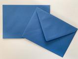 Briefumschlag DIN6 - dunkelblau