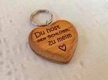 """Schlüsselanhänger """"Herz"""" - Schlüssel zu meim Herz"""
