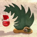 """Weihnachtsdeko Christbaum """"Krummer Hund"""" - mittel #2"""