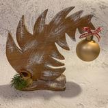 """Weihnachtsdeko Christbaum """"Krummer Hund"""" - mittel #3"""