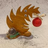"""Weihnachtsdeko Christbaum """"Krummer Hund"""" - klein #2"""