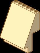 Panel 4 x 6 x 6 Sloped