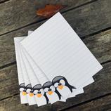 Mini-Blöcke Pinguin   5 Stück