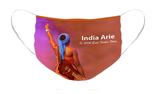 India Arie Option 1: Pleated Cloth Mask