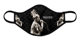 Celia Cruz Sepia Option 2: (Quilted, Adjustable, Soft & Very Breathable)