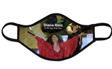 Diana Ross Option 2: Non Medical Mask: (Quilted, Adjustable, Soft & Very Breathable)