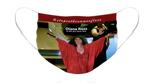 Diana Ross Option 1: Pleated Cloth Mask