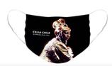 Celia Cruz Color Option 1: Pleated Cloth Mask