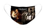 Lila Downs Option 1: Pleated Cloth Mask