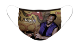 Toots Hibbert of the Maytals Option 1: Pleated Cloth Mask