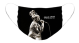 Celia Cruz Sepia Option 1: Pleated Cloth Mask
