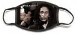Bob Marley Option 2 (100% Polyester Adjustable Mask-Also Available in Child's Size!)