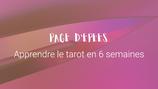 Apprendre le tarot : Page d'Épées