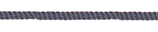 Kordel 4 mm, grau